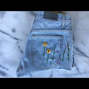 Carmar Embroidered Shorts